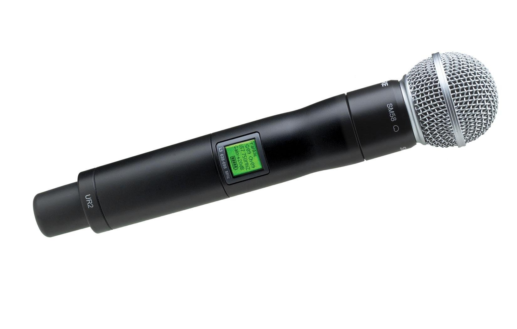 SM58 Handheld Transmitter for the UHF-R Wireless System