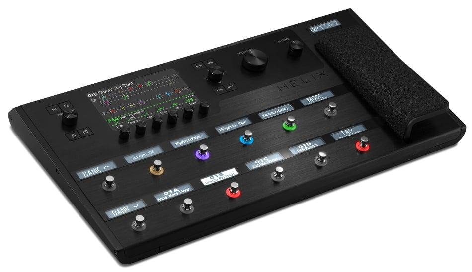 Multi-Effects Guitar Processor
