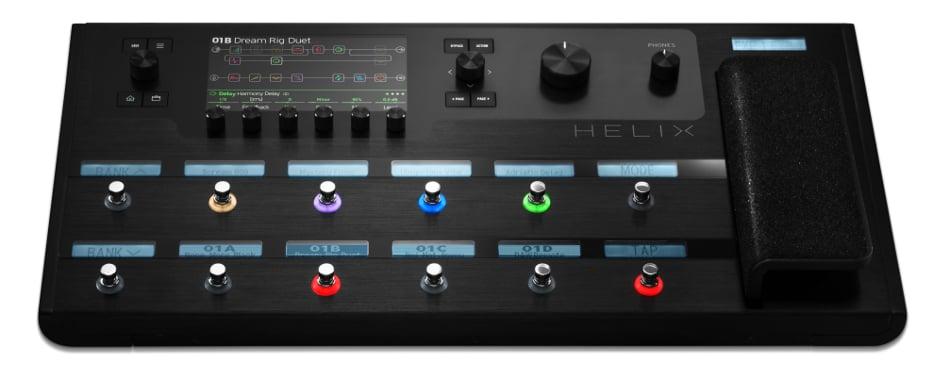 line 6 helix multi effects guitar processor full compass. Black Bedroom Furniture Sets. Home Design Ideas