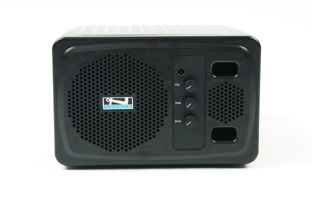 Anchor AN130RCBK+ Powered Speaker with Remote Control, Black AN130RCBK+