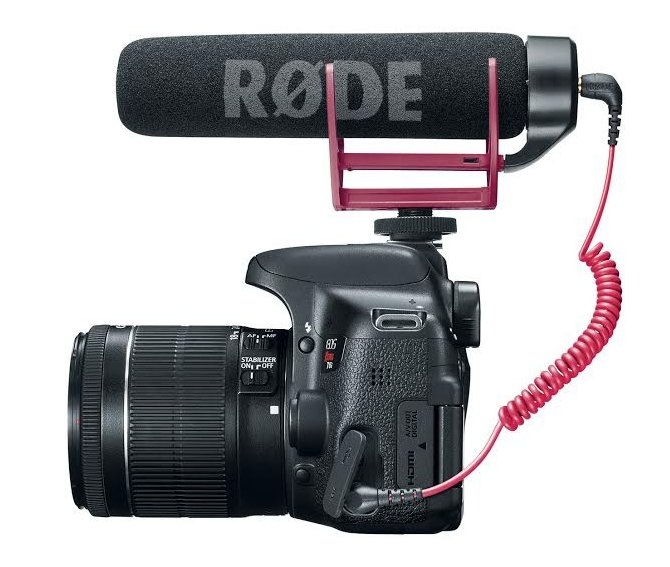 EOS Rebel T6i DSLR with 18-55mm Lens and Video Creator Kit