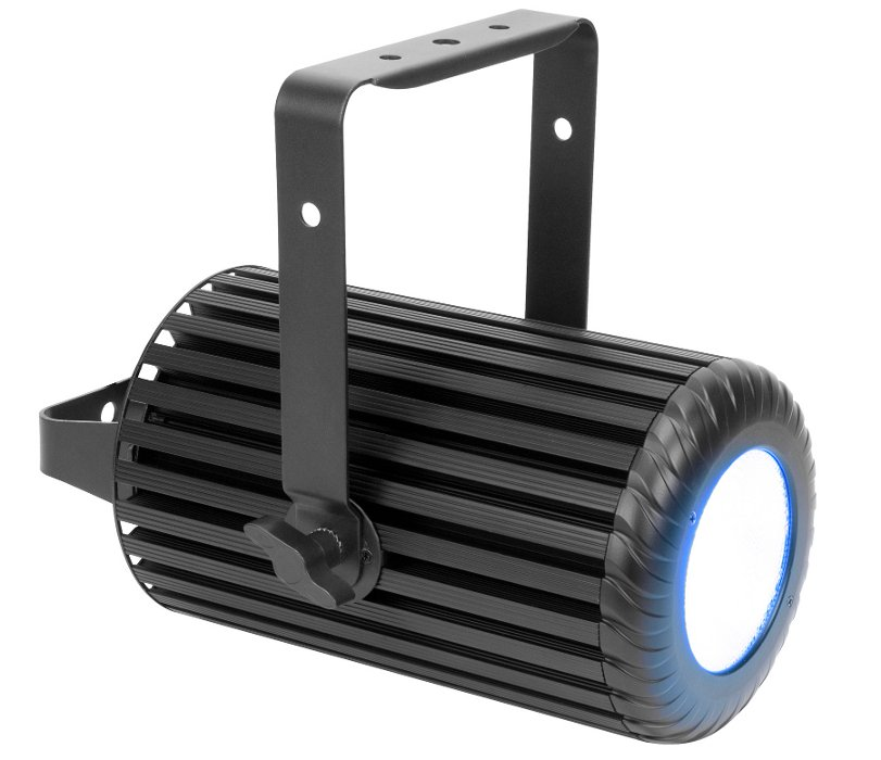 110W RGBW LED Pendant Fixture with E-Fly DMX Transceiver in Black