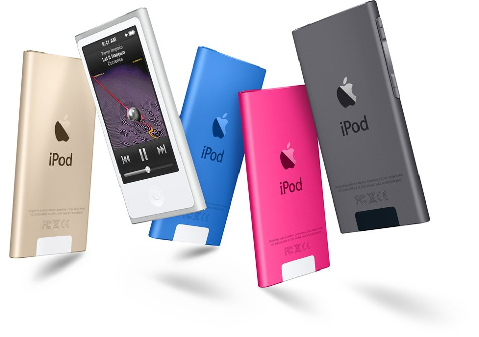 """16 GB Media Player with 2.5"""" Multi-Touch Display"""
