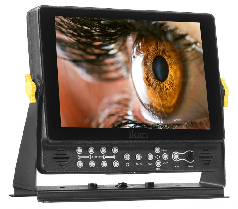 "9"" Full HD Plus 3G-SDI Monitor with Scopes and Battery Plates"