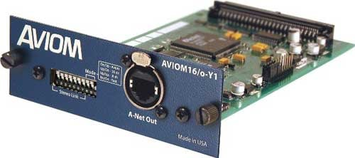 Output Card, A-Net for Yamaha Digital Mixers