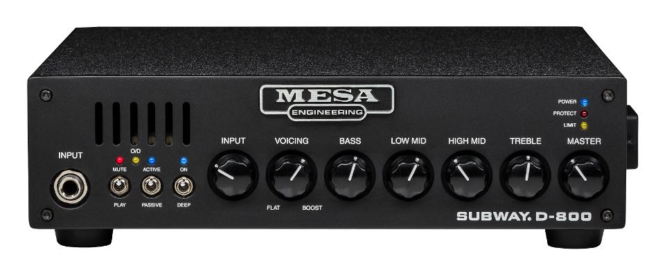 800 W Class D Bass Amplifier Head