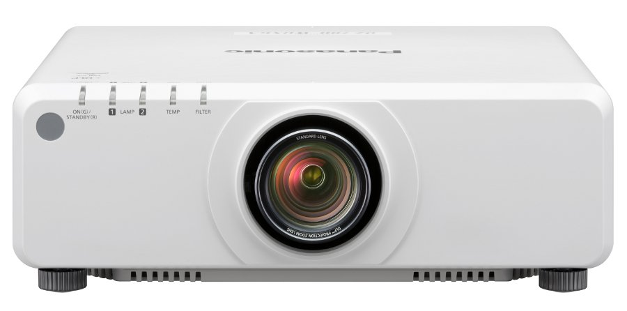 7000 Lumen WUXGA DLP Projector with Standard Lens in White