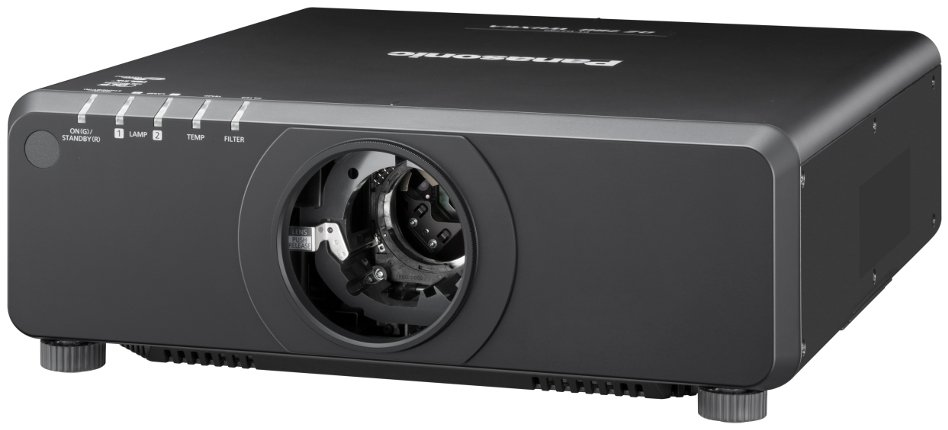 7000 Lumen DLP Projector Body Only in Black (Lens Sold Separately)
