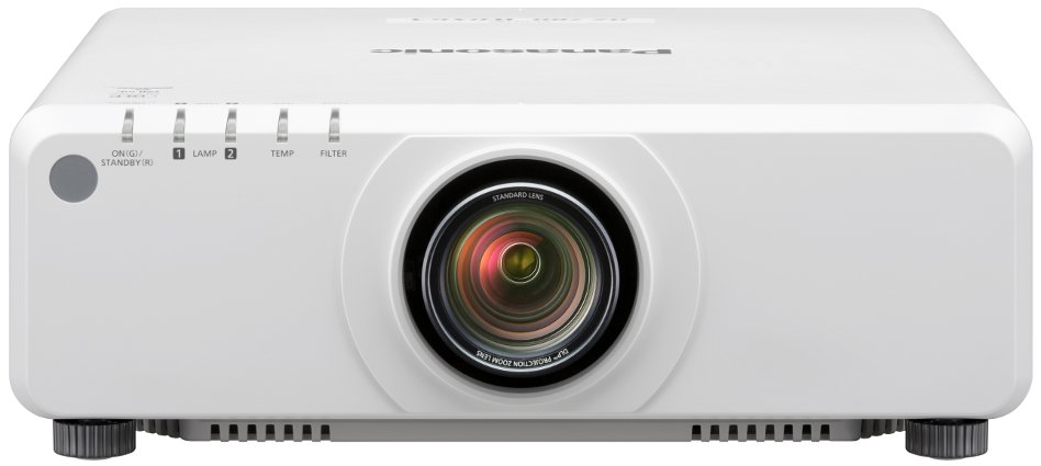 7000 Lumen DLP Projector Body Only in White (Lens Sold Separately)