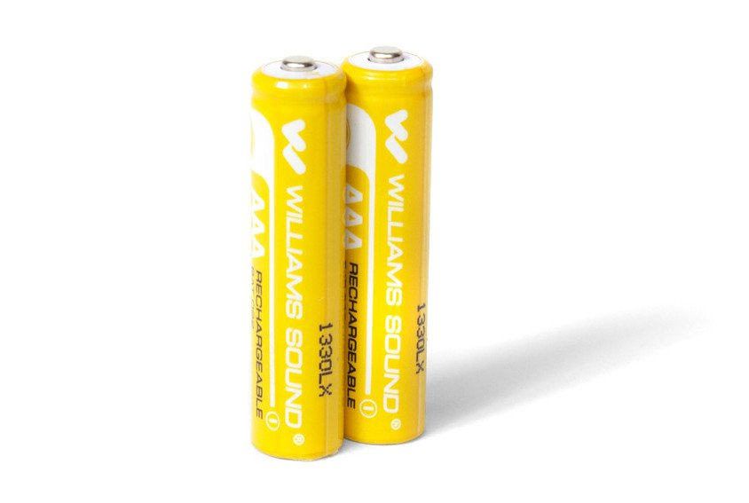 Two AAA NiMH Rechargeable Batteries