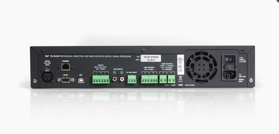 Digi-Loop DSP Dual Channel Loop Amplifier