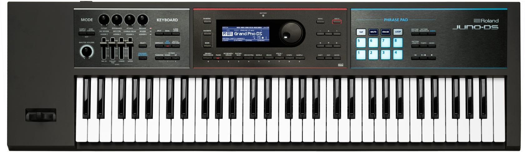 61-Key Synthesizer/Arranger