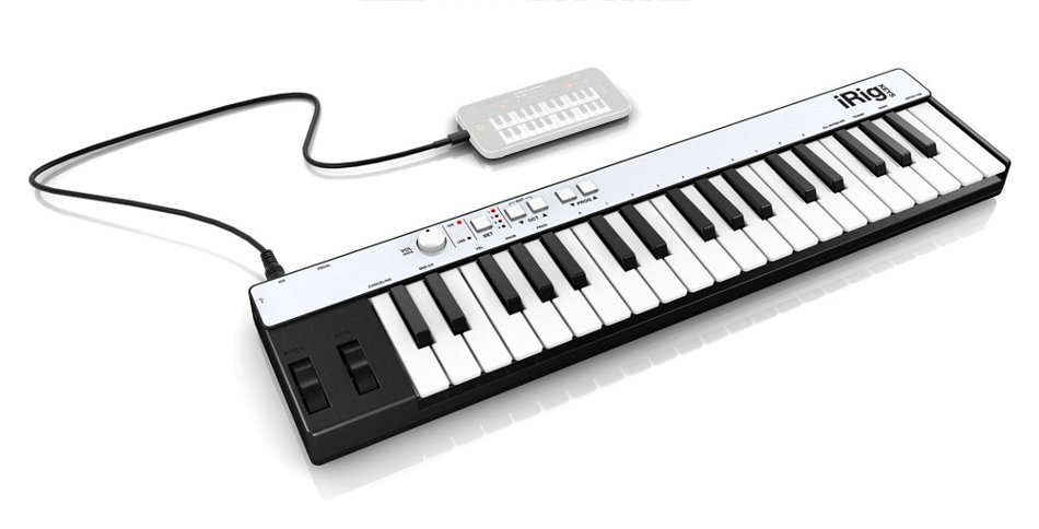 37-Key Mini Keyboard with Lightning Connector