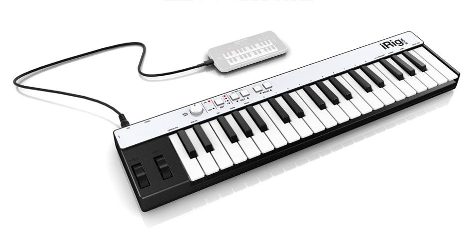IK Multimedia IRIG-KEYS-LIGHTNING IRig Keys 37-Key Mini Keyboard With  Lightning Connector