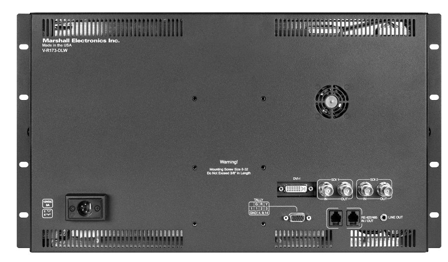 "17.3"" Desktop-Rack Mount Monitor with Digital Analytics"