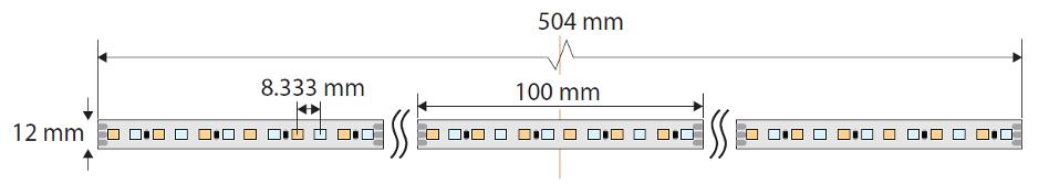 VariWhite - 3000K-6000K - 5M Reel
