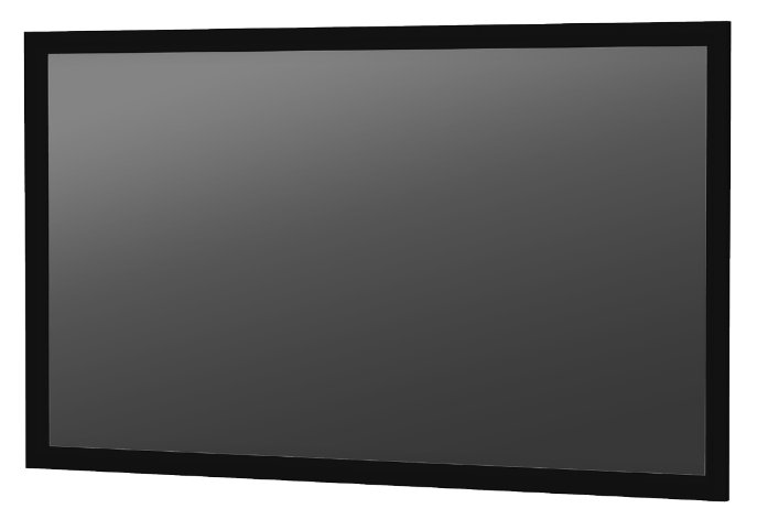 "54"" x 96"" HDTV-16:9 Parallax Fixed Frame Screen with UST 0.45 Surface"