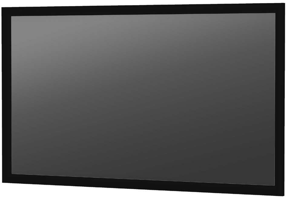 "50"" x 80"" Parallax Wide Format Wall Mounted Fixed Frame Screen with 0.8 Surface"