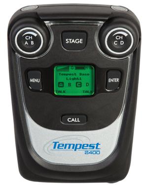 4-Channel 2.4GHz Tempest BeltStation