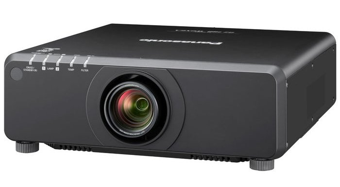 7000 Lumen WUXGA DLP Projector with Standard Lens in Black