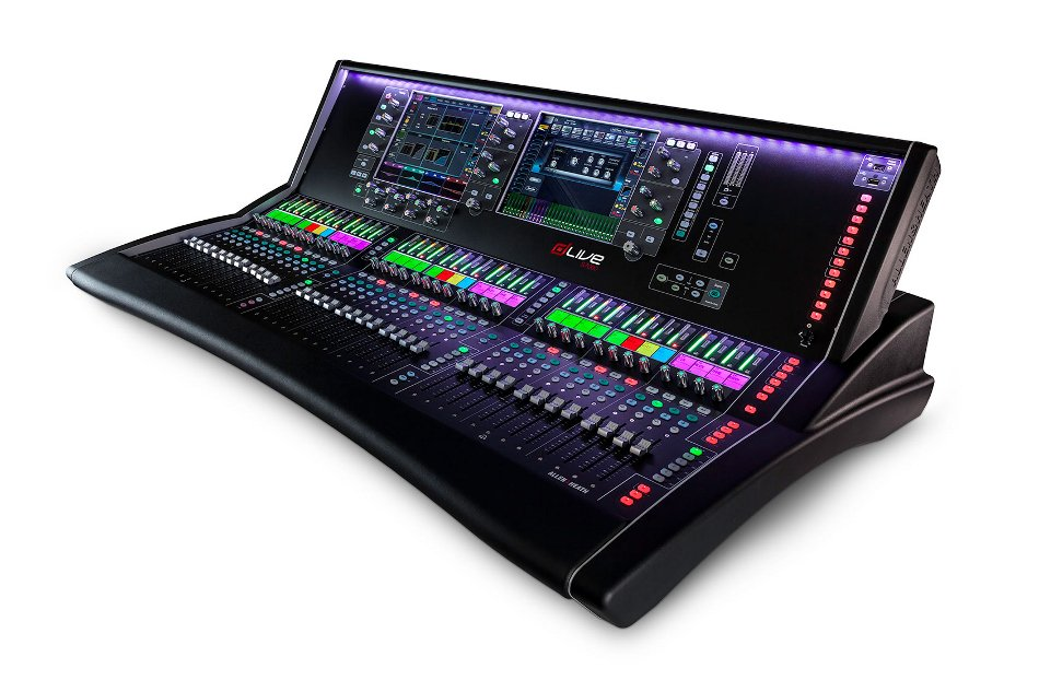 "Live Mixing Control Surface with 36 Faders and Dual 12"" Touchscreens"