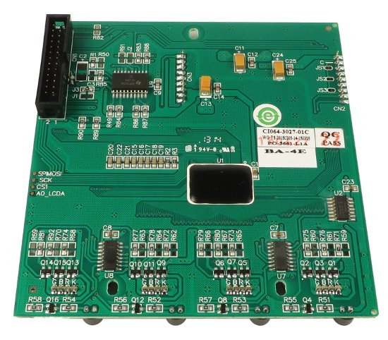 Channel Display LCD for iLive, T80 and T112