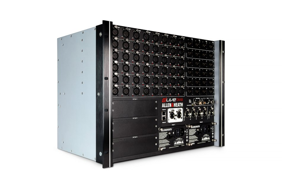 dLive I/O Box, 48 In x 24 Out