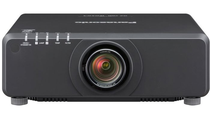 Panasonic PT-DZ780LBU 7000 Lumen WUXGA DLP Projector in Black without Lens PTDZ780LBU