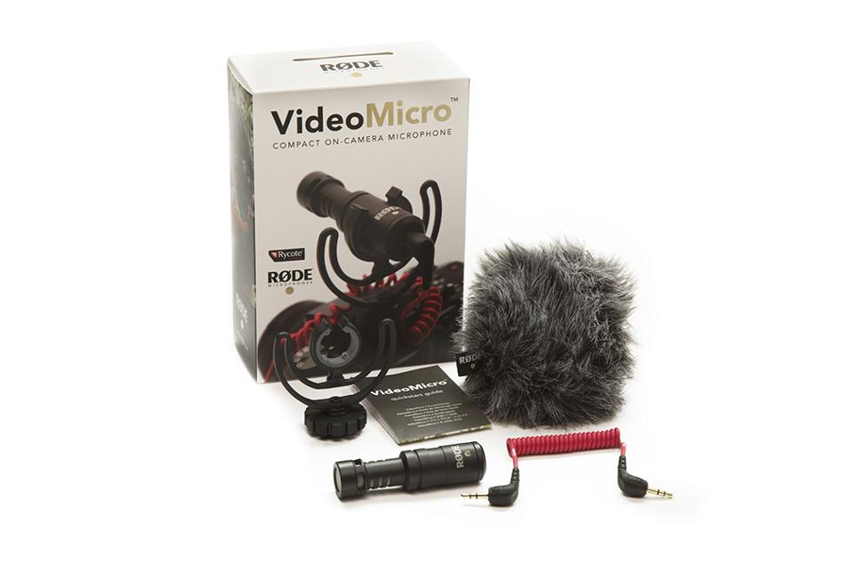 Compact Shotgun Microphone, w/Rycote Lyre Shockmount