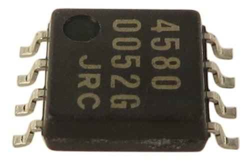 NJM4580M Dual OP Amp IC