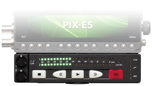 2x XLR I/O Audio Interface for PIX-E Series Monitors