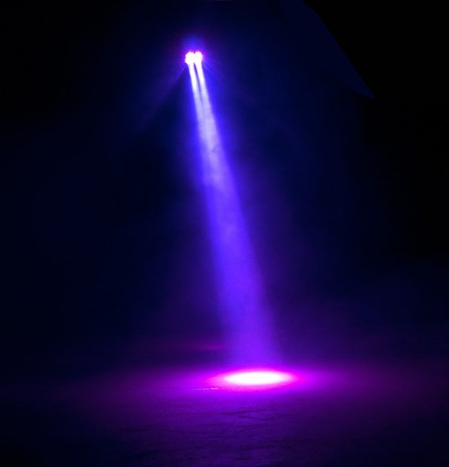 4x15W LED PAR with Manual Zoom