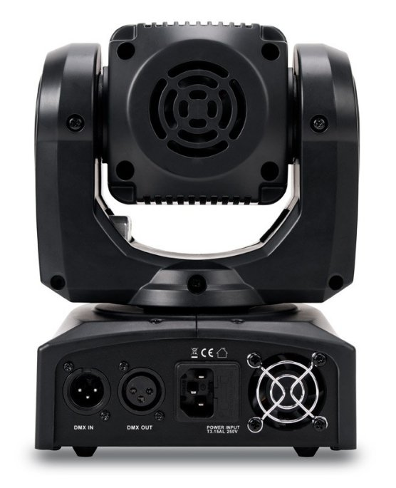 4x10W Compact LED Moving Head Wash Fixture with Zoom