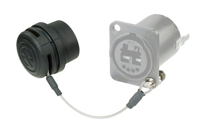 Rubber Seal Cover for optiCON Chassis Connectors