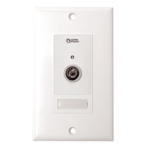 Wall Plate Key Switch with Momentary Contact Closure