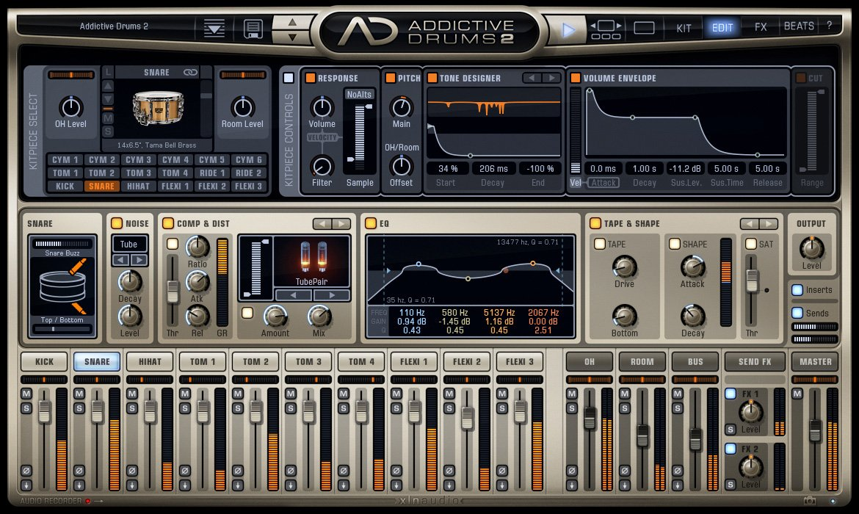 Drum Production Software Suite