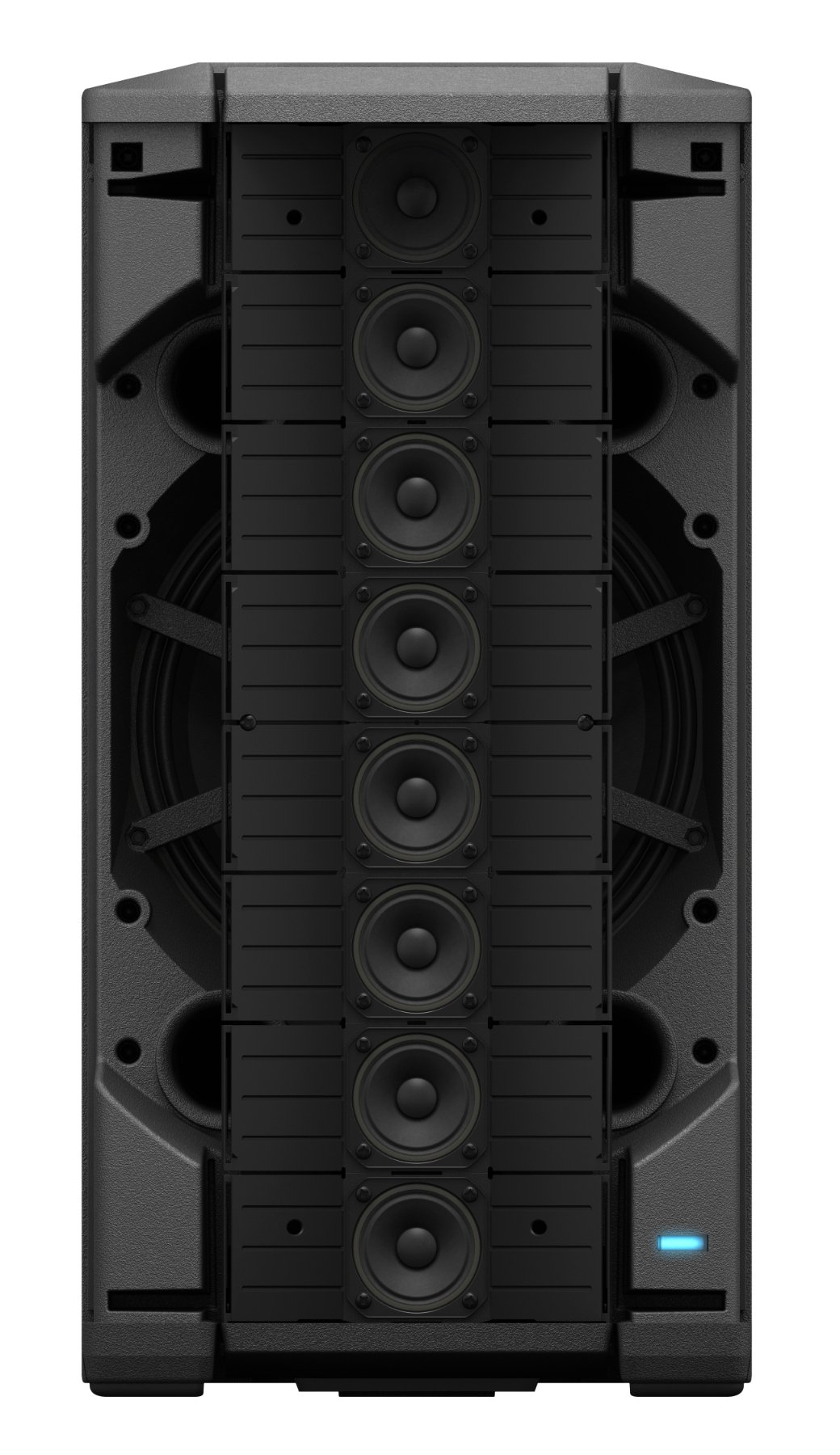 Portable Line Array Loudspeaker with User-Configurable Array