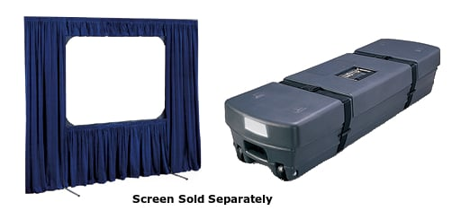Draper Shade and Screen 220123  9 ft x12 ft Cinefold Dress Kit with Case 220123