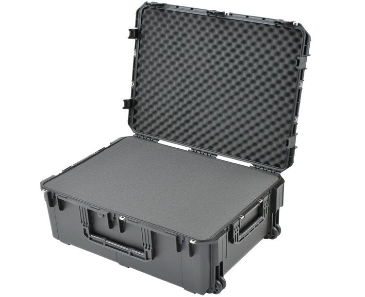 "iSeries Pro Audio Utility Case with Wheels, 34""x24""x12"", Cubed Foam Interior"