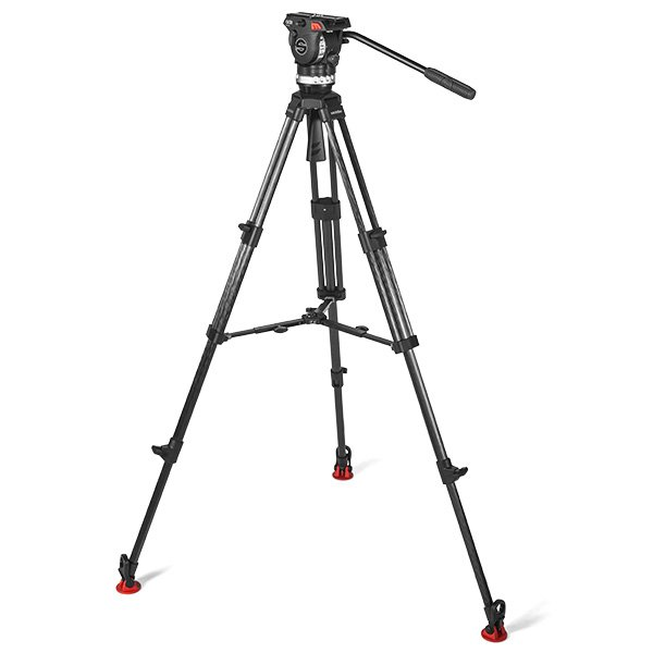 75 mm Tripod System with Mid-Level Spreader