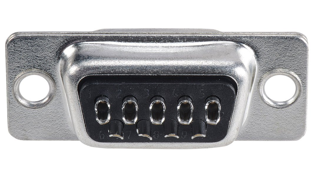 Economy Solder Style D-SUB DB9 Female Connector