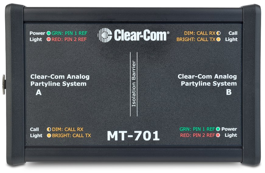 Clear-Com MT-701 Isolation Box For Partyline Interface