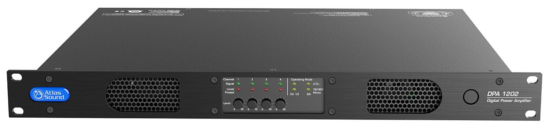 2 x 600W Network Amp @ 70V
