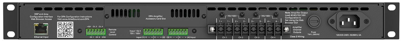 Network amp 2 x 300W @ 70V