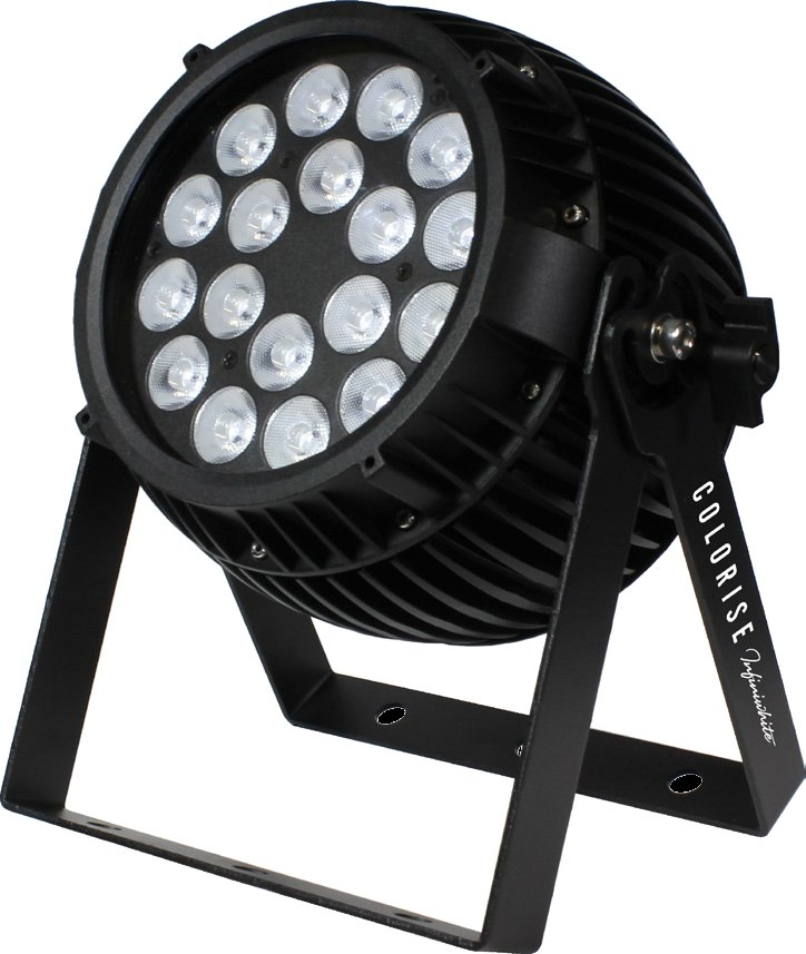 Fanless 18x 5W LED PAR with A/C/W Color Mixing and AnyFi Universal Wireless DMX