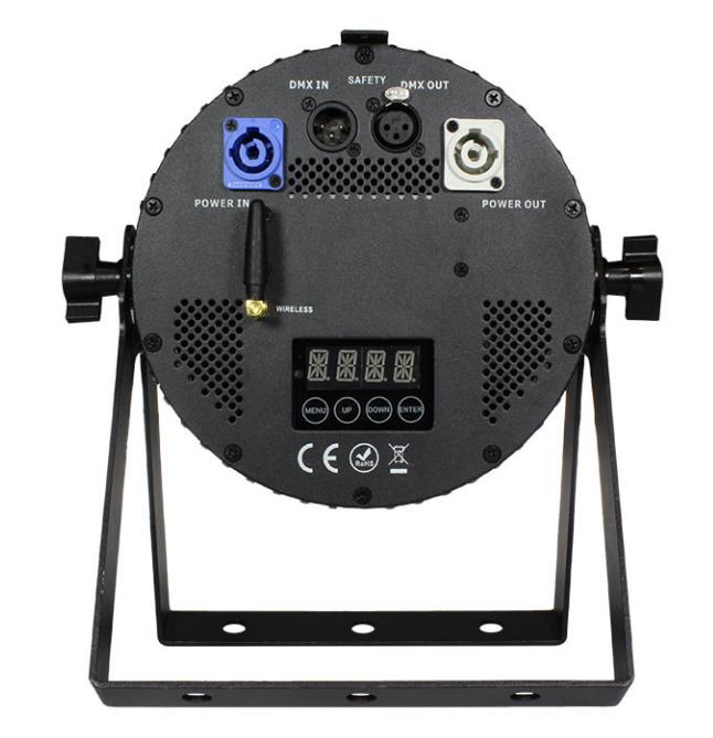 12x15W RGBAW+UV LED Par Can with AnyFi Universal Wireless DMX