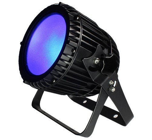 IP65 Rated PAR with 1x 100W UV COB LED, 60° Beam Angle