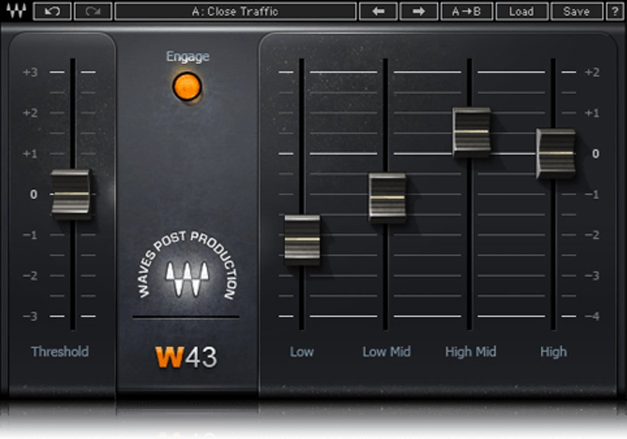 Waves VSSSG Audio Plug-in Bundle For Video Production (Download