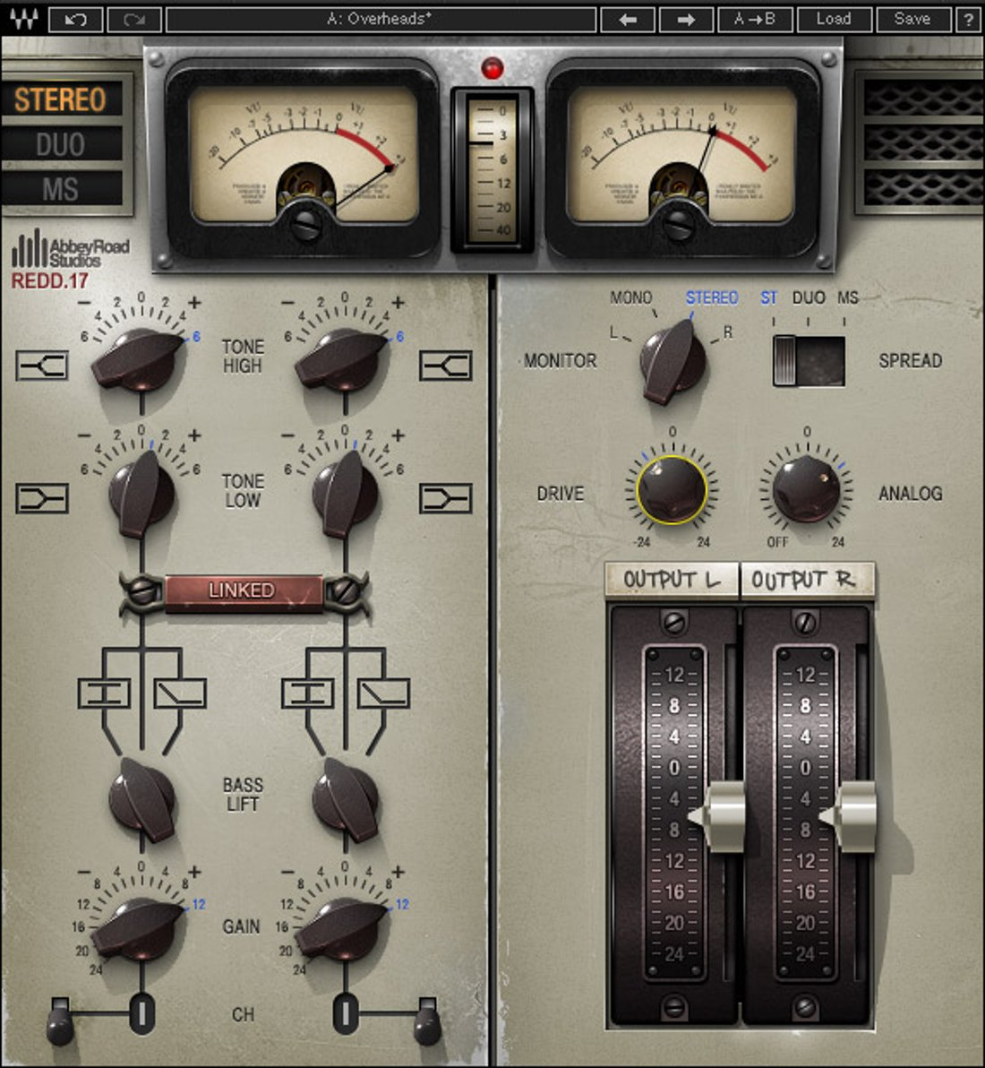 Waves SGREDD Classic Abbey Road Console Plug-in (Download