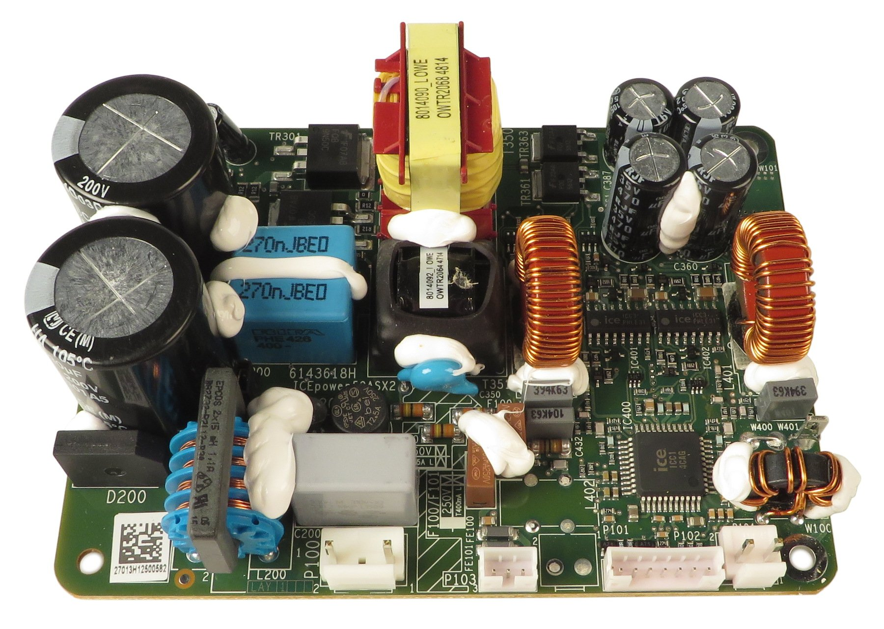 Power Amp Pcb For Mb200 Mb150 Mb112 By Gallien Krueger 206 0521 A Circuit Board Blank
